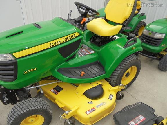 John Deere X734