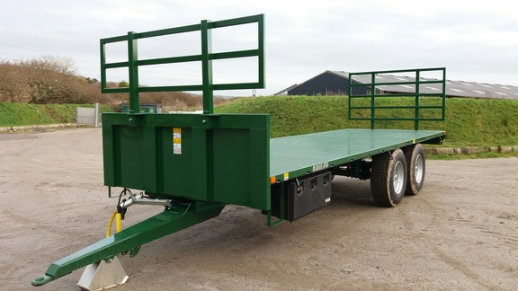 Bailey 25ft Flat Bed Trailer