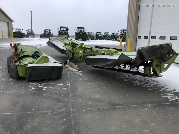 2014 Claas 9100C and 3500FC