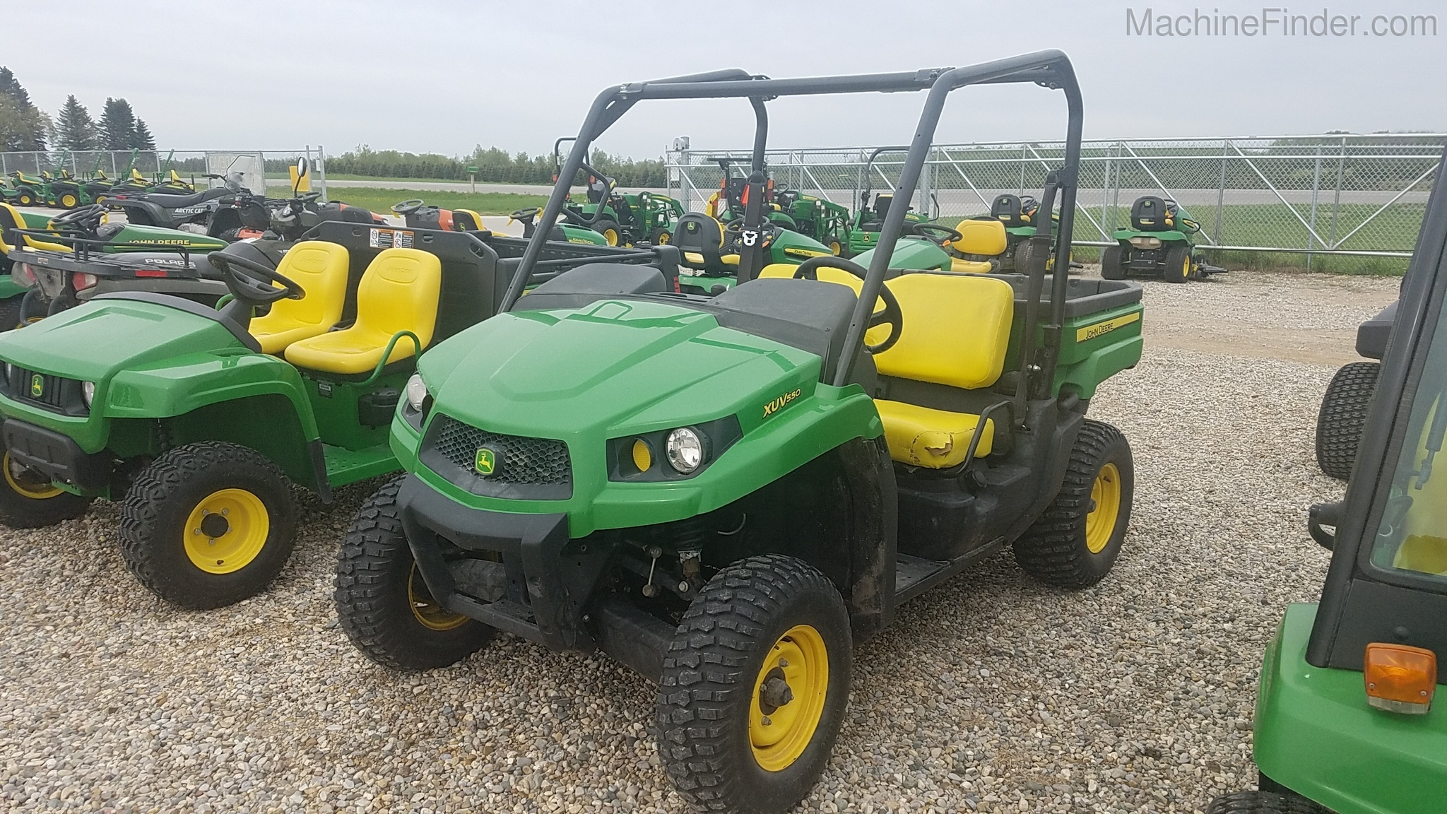 2015 John Deere XUV 550 GREEN ATVs & Gators John Deere MachineFinder