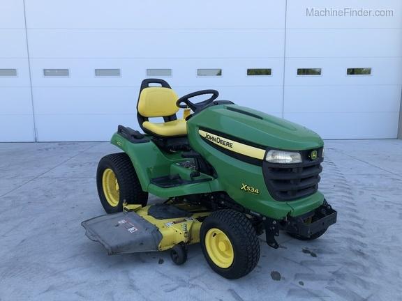 [NRIO_4796]   2008 John Deere X534 - Lawn & Garden Tractors - Warsaw, IN | John Deere X534 Engine Schematics |  | GreenMark Equipment