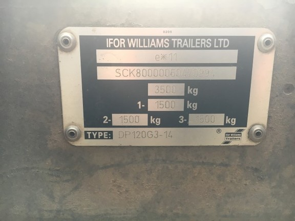 Ifor Williams DP120