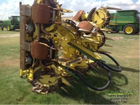 Self-Propelled Forage Harvester Heads: Rotary