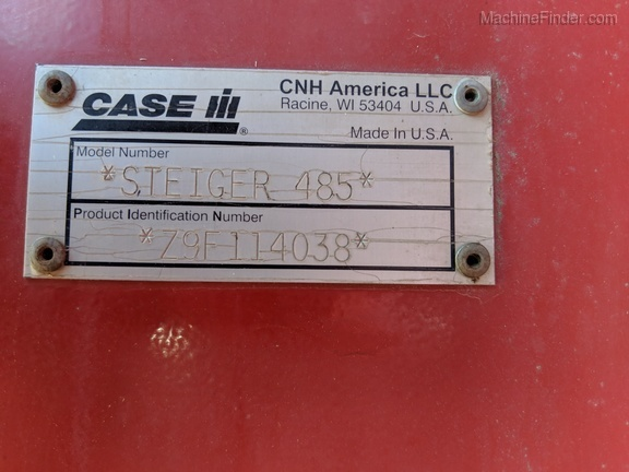 2010 Case IH Steiger 485 - Articulated 4WD Tractors