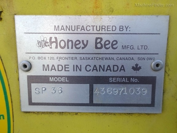 1997 Honey Bee SP36