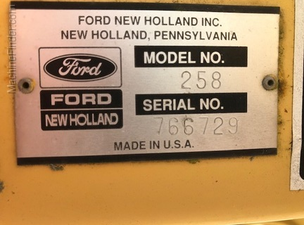 Ford-New Holland 258