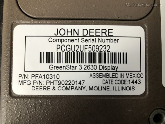 2014 John Deere 2630 DISPLAY Image 8