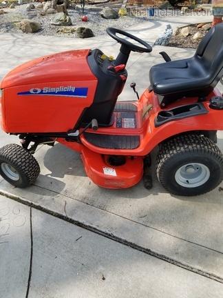 2007 Simplicity Regent 18H - Lawn & Garden Tractors