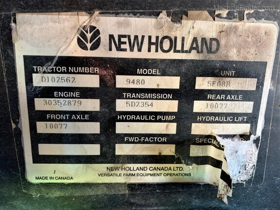 1995 New Holland 9480 Image 18