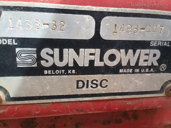 1999 Sunflower 1433-32