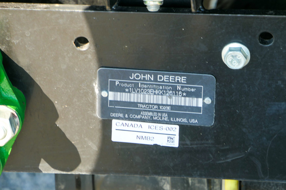 2019 John Deere 1023E-21
