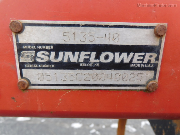 2004 Sunflower 5135-40