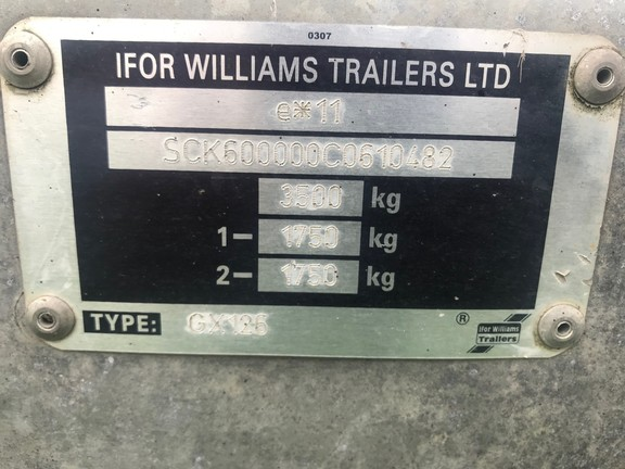 Ifor Williams GX126