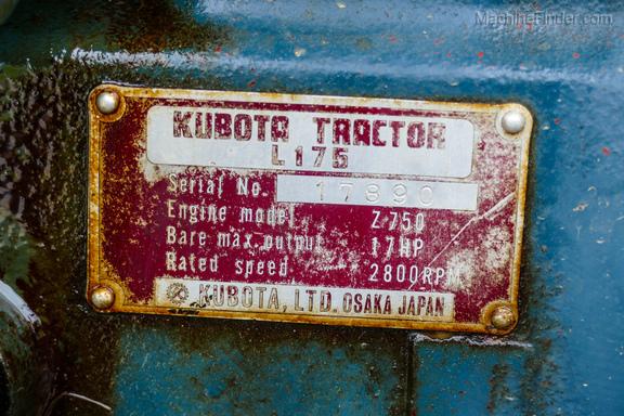 1977 Kubota L175-25