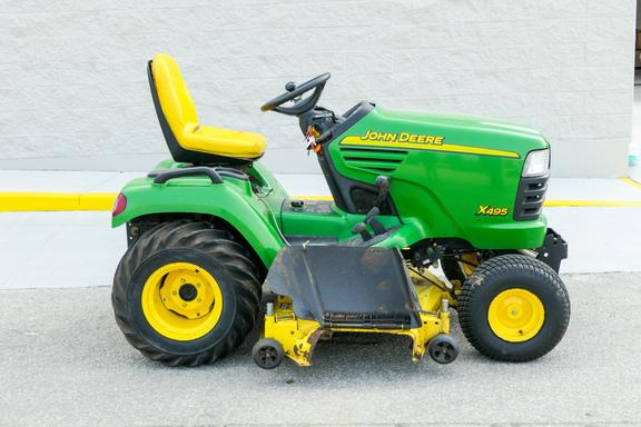 2002 John Deere X495-3