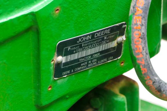 2013 John Deere 7260R-30