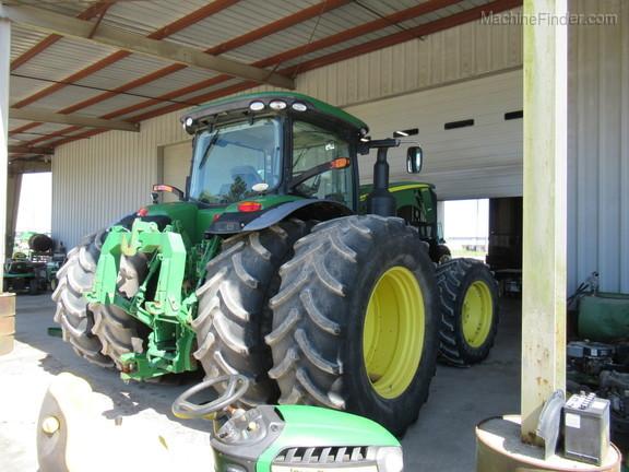 2014 John Deere 8370R - Row Crop Tractors - Clinton, NC