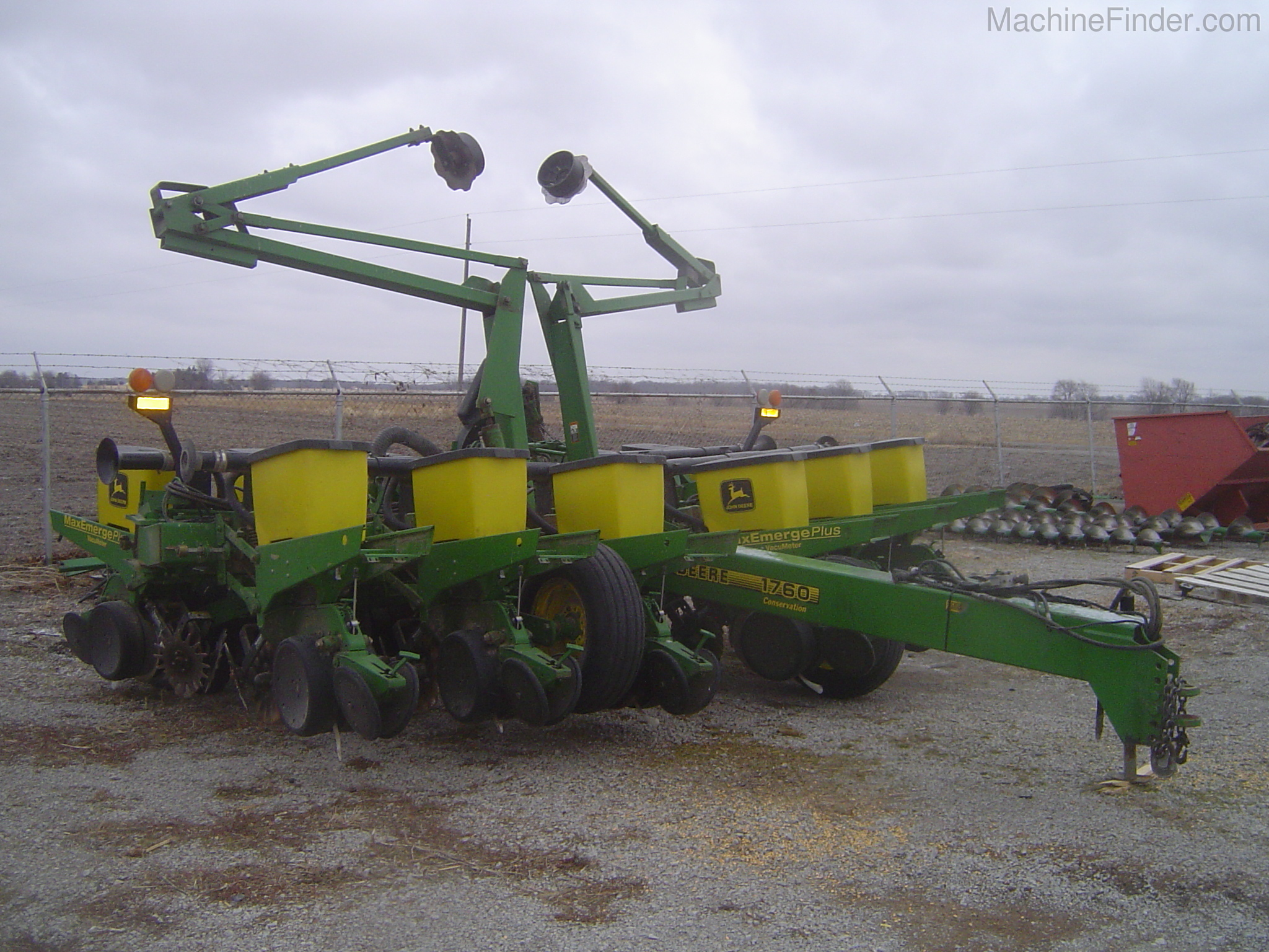 John Deere 1760 Planters Drawn For Sale 82662