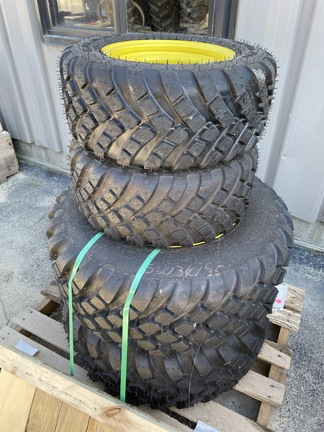 R3 Radial tires and rims