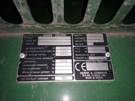 John Deere 1450 CWS