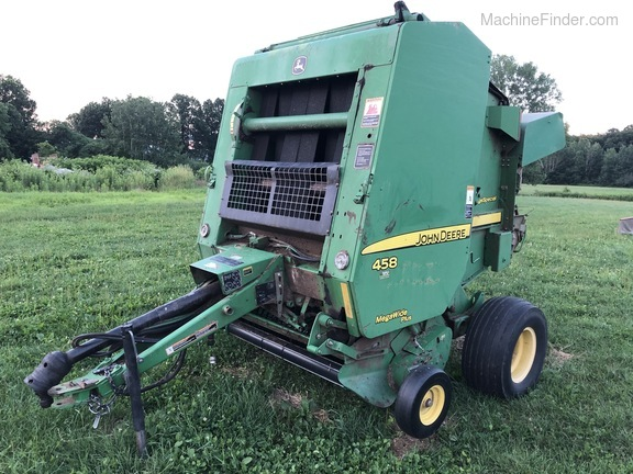 2008 John Deere 458 Silage Special Image 3