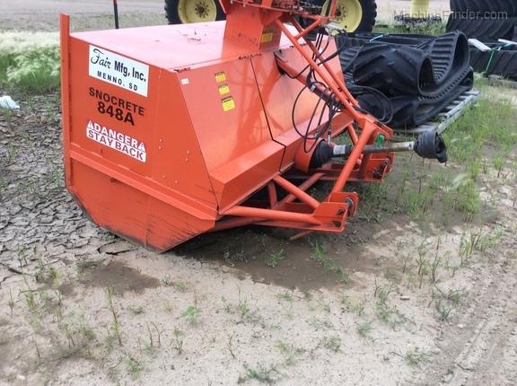 2011 Fair Mfg 848A - Farm Tractor Mounted Snow Blowers - Sleepy Eye, MN