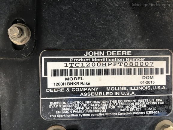 Pre-Owned John Deere 1200H in Boynton Beach, FL Photo 8