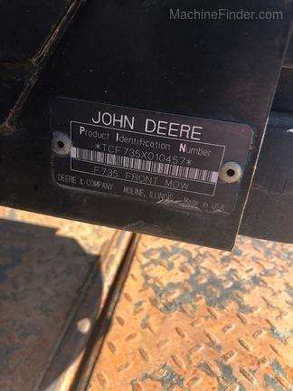 1999 John Deere F735-6