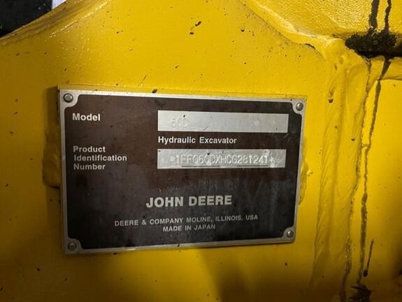 2012 John Deere 60D-7