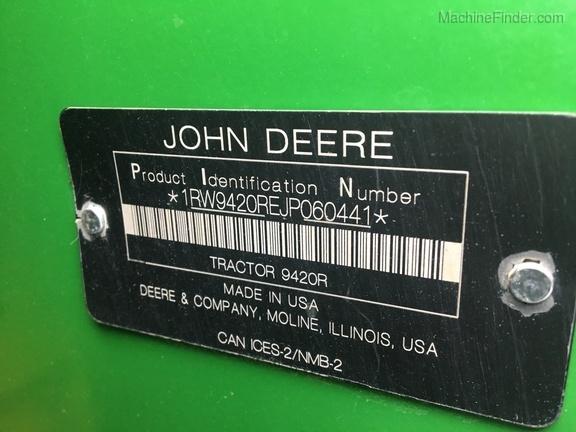 Photo of 2018 John Deere 9420R