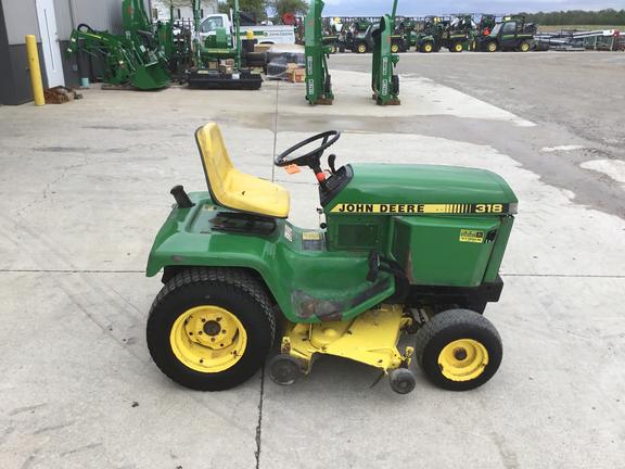 John Deere 318 >> 1989 John Deere 318 Lawn Garden Tractors John Deere Machinefinder