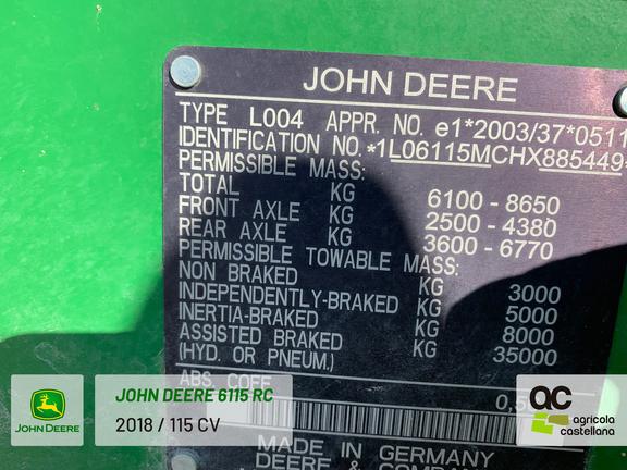 John Deere 6115 RC