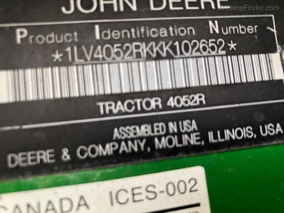 Pre-Owned John Deere 4052R in Fort Pierce, FL Photo 4