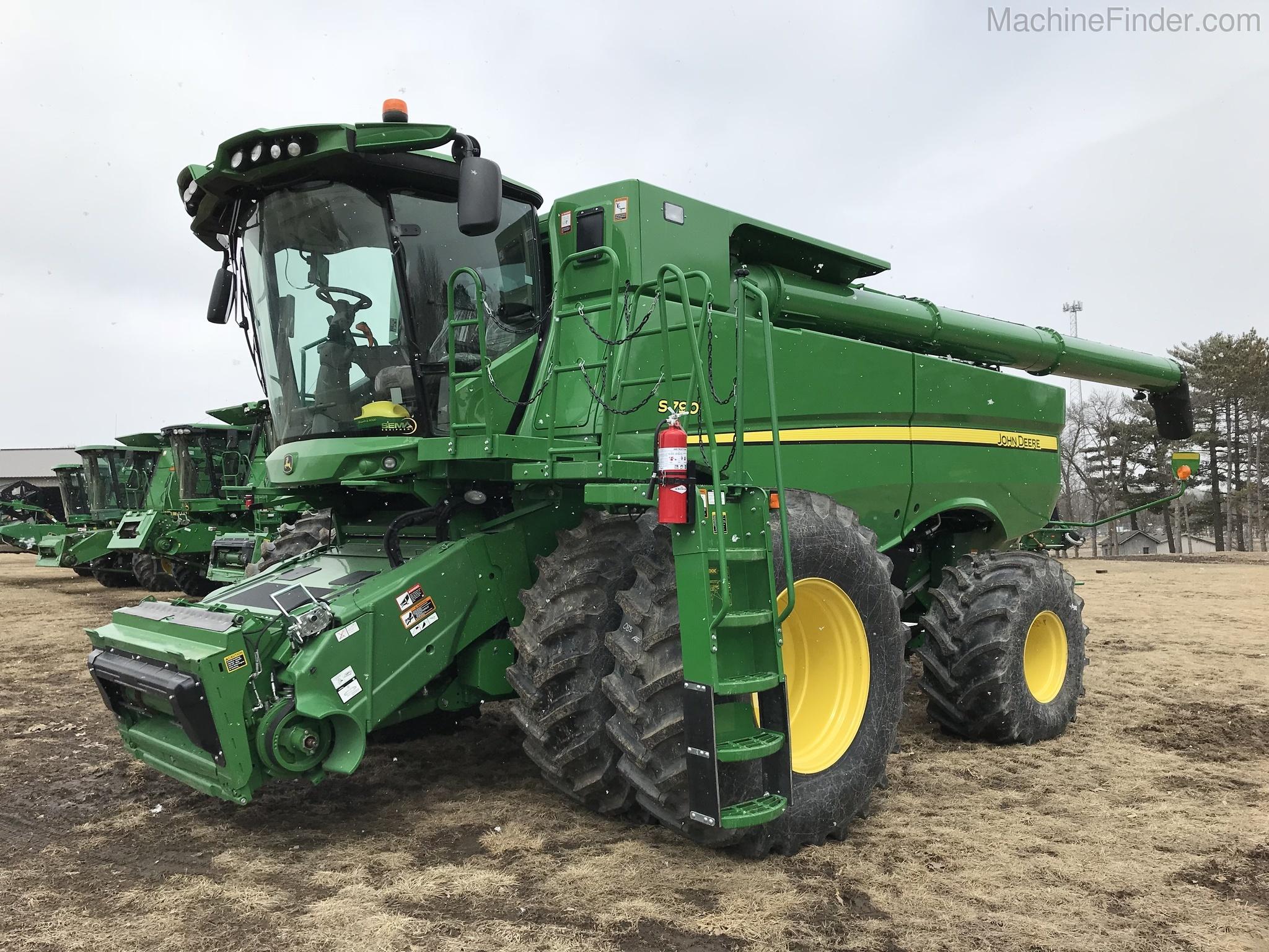 Equipment Details 2018 John Deere S790