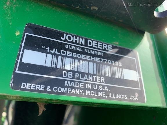 2017 John Deere DB60