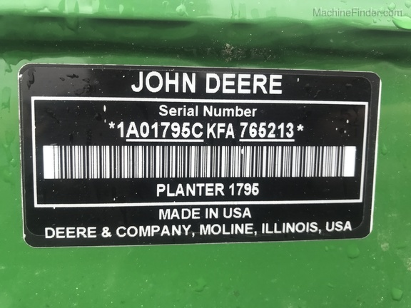 Photo of 2016 John Deere 1795