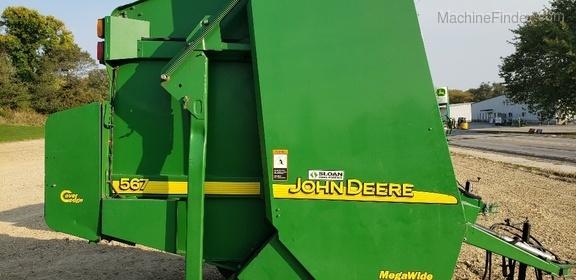 John Deere 567