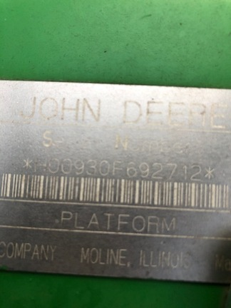 2001 John Deere 930F-12