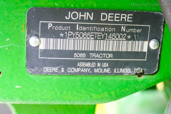2015 John Deere 5065E-32