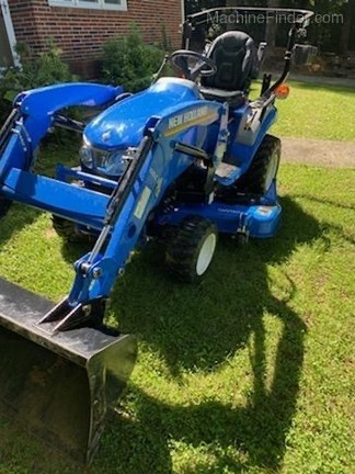 2019 New Holland Workmaster 25S Image 3