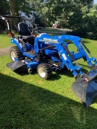 2019 New Holland Workmaster 25S Image 2