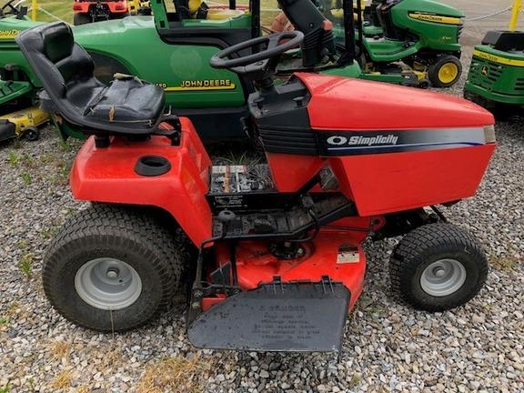 2002 Simplicity Broadmoor 16vh Lawn Amp Garden Tractors