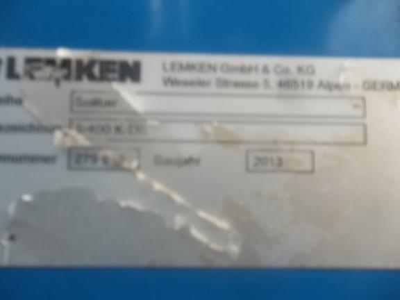Lemken SOLITAIR 9/400K