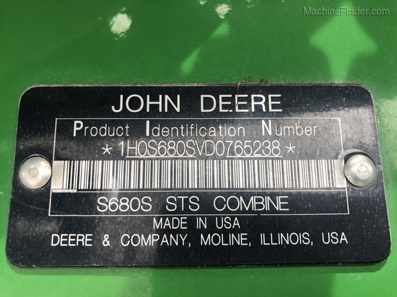 Photo of 2014 John Deere S680