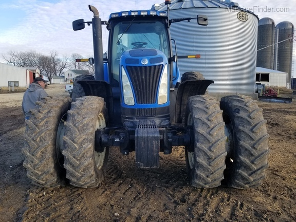 2008 New Holland T8040