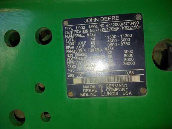 John Deere 6170M