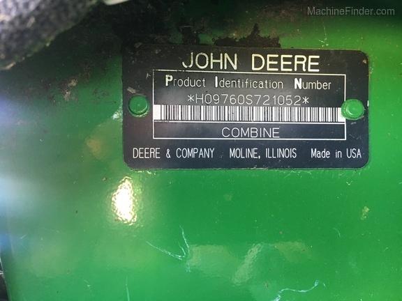 Photo of 2007 John Deere 9760 STS