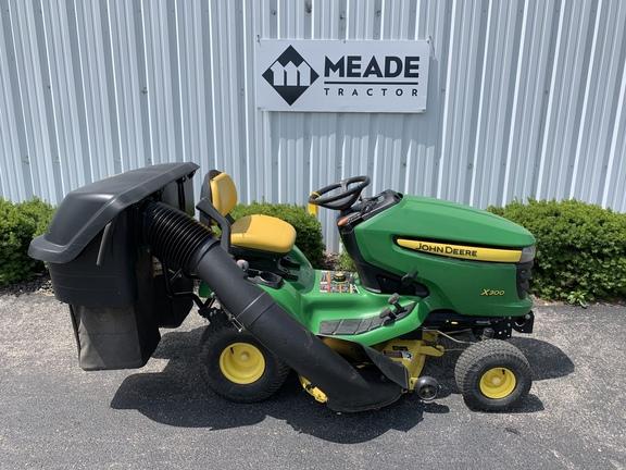 2010 john deere x300  lawn  garden tractors  john deere