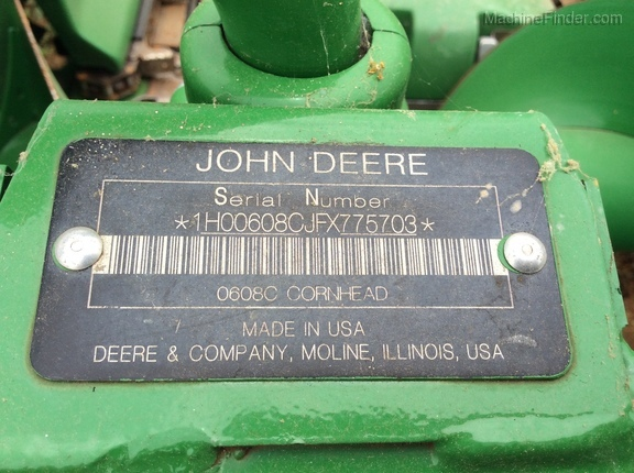 Photo of 2015 John Deere 608C