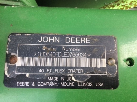 Photo of 2014 John Deere 640FD